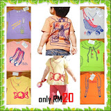 Vince, nissen new design tshirt for girl & boy RM20