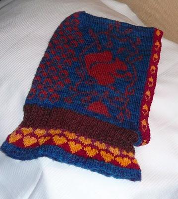 Knitting Patterns Sock Yarn Mittens : torirots stitches: Sock yarn mitten pattern balaclava