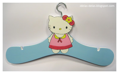 cabide hello kitty