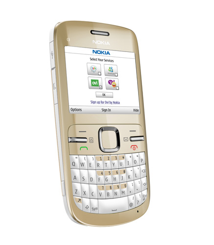 nokia c3. Nokia C3 is a Series 40 Mobile