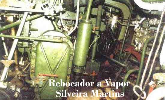 REBOCADOR A VAPOR SILVEIRA MARTINS