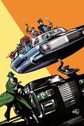 Captain Action/Green Hornet Cover!