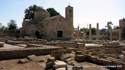 Мраморная колонна св. Апостола Павла, St Paul's Pillar in Paphos