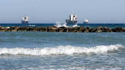 Корабли у побережья Лимассола by TripBY.info
