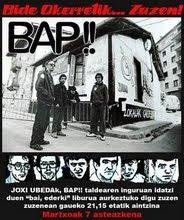 BAP!! taldeari buruzko monografikoa