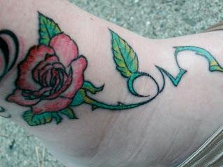 rosa com espinhos