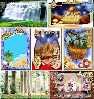 ... dan Background Foto Buat Album Anak-Anak JPG+PNG 2012 Free - Gratis