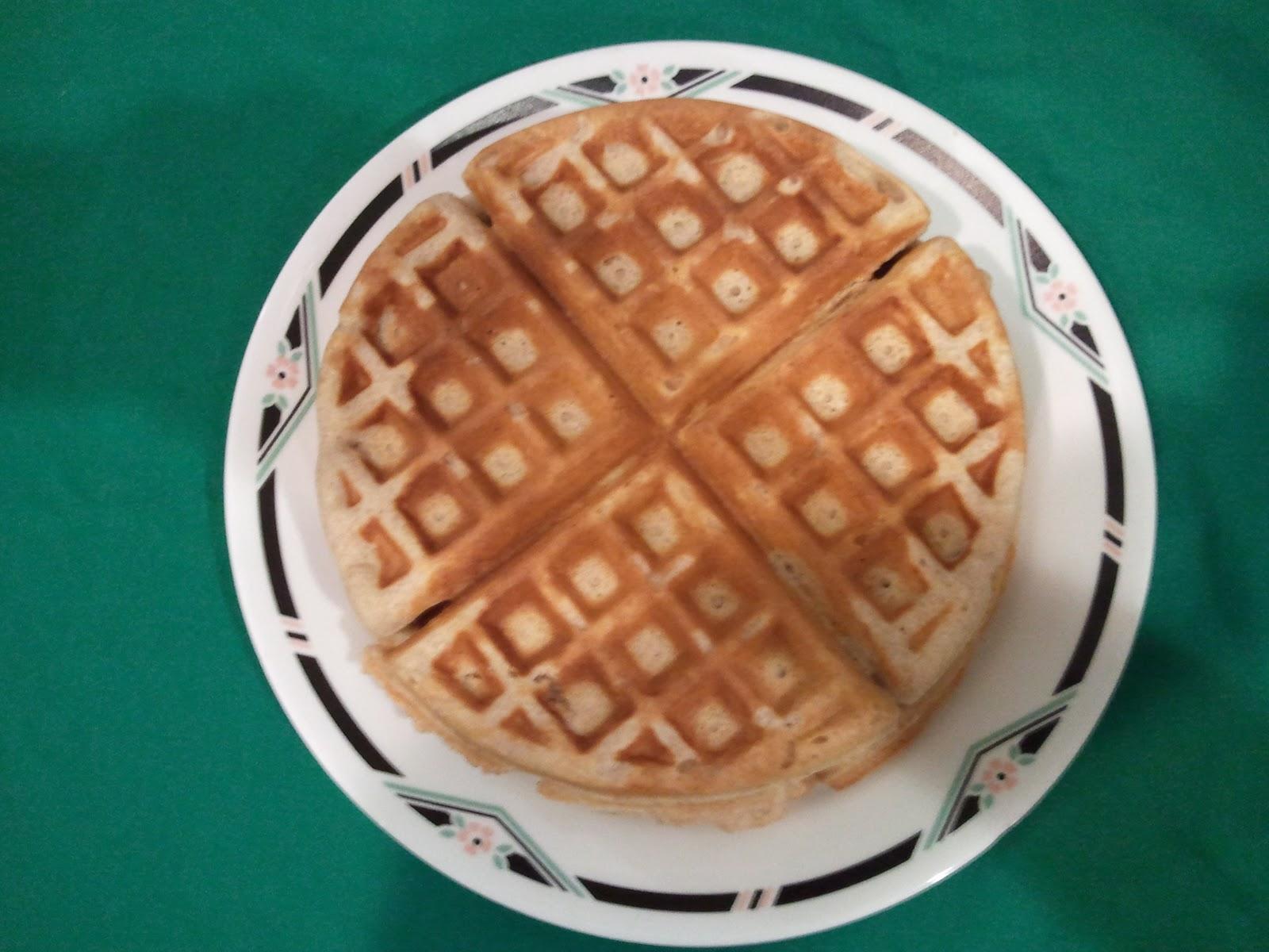 Whole Grain Waffles (Frugal Food Thursday) | Frugal Follies