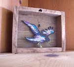Rustic Reclaimed Fencewood Shadow Box