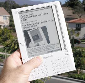 Kindle el nuevo lector de e-books de Amazon