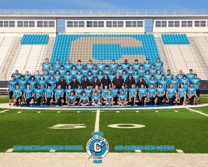 Sue Cleveland HS Football Team 2010