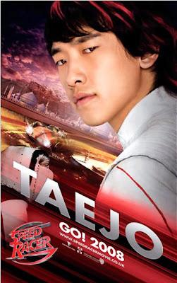Rain is Taejo Togokhan in Speed Racer