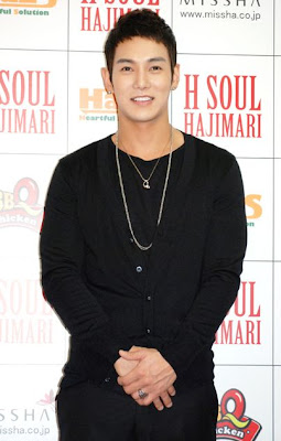 Hwanhee promotes H Soul in Japan