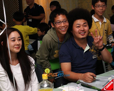 Lee Jee Hoon in Charitable Activity Annextelecom_hamsowon_yoontaek