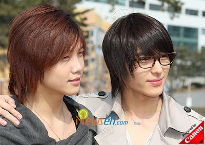 Como lo prefieres ¿Con gafas o sin ellas? Ohwonbin_Choijonghoon1