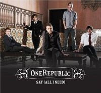 onerepublic   say all i need lyrics