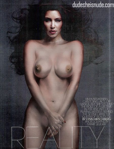 Kim naked uncensored sexiest