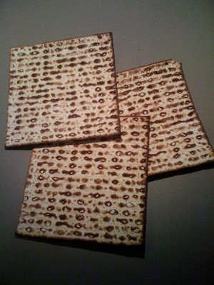 Burnt matzoh