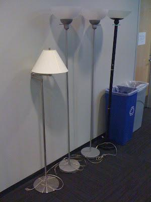 Orphan lamps