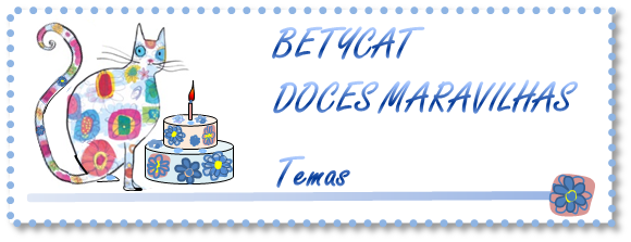 BETYCAT - Doces Maravilhas (Cake Design)