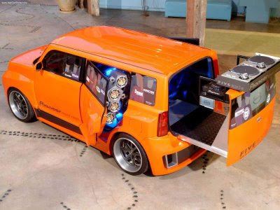 2005 Scion 5 Axis Widebody Dj Xb. DJ Special Sauce: Mobile DJing