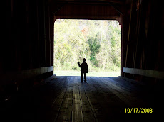 Me on the covered bridge