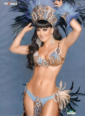 "Fotos de Maribel Guardia en Bikini Hot para revista ""TV Notas"
