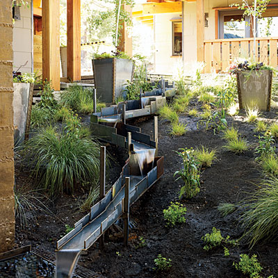 Outdoor Decorating and Gardening: A Water Feature to Attract Songbirds