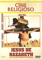JESUS DE NAZARETH. 2 DVD'S.