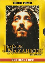 JESUS DE NAZARETH. PACK 4 DVD'S.