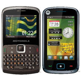 Motorola EX115 and EX128