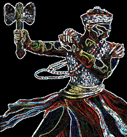 Xangô - Saudação: Kawô - Kabiesilê