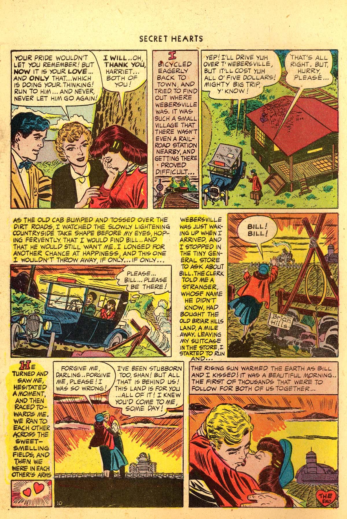 Read online Secret Hearts comic -  Issue #4 - 12