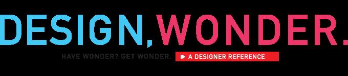 Design Wonder.