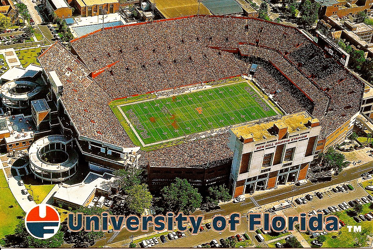 Download wallpapers Ben Hill Griffin Stadium, The Swamp