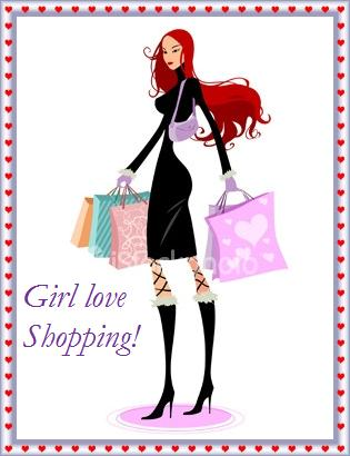 Girl Love Shopping!