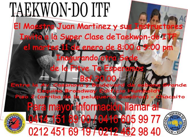 Super Clase de TKD ITF - Sede Chacaito