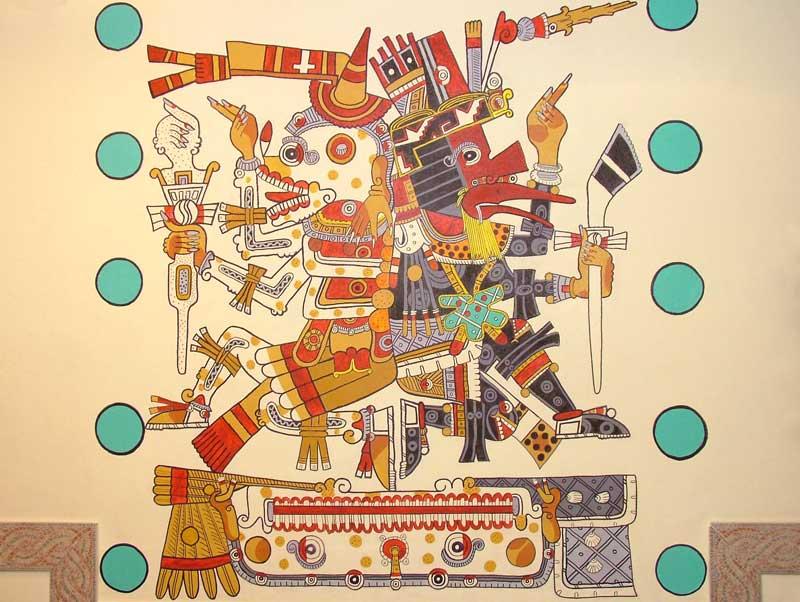 Ancient Mayan Art Clipart