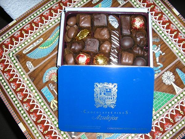 I sanborns chocolate m s que una golosina for Chocolates azulejos sanborns precio
