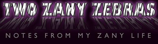 Two Zany Zebras