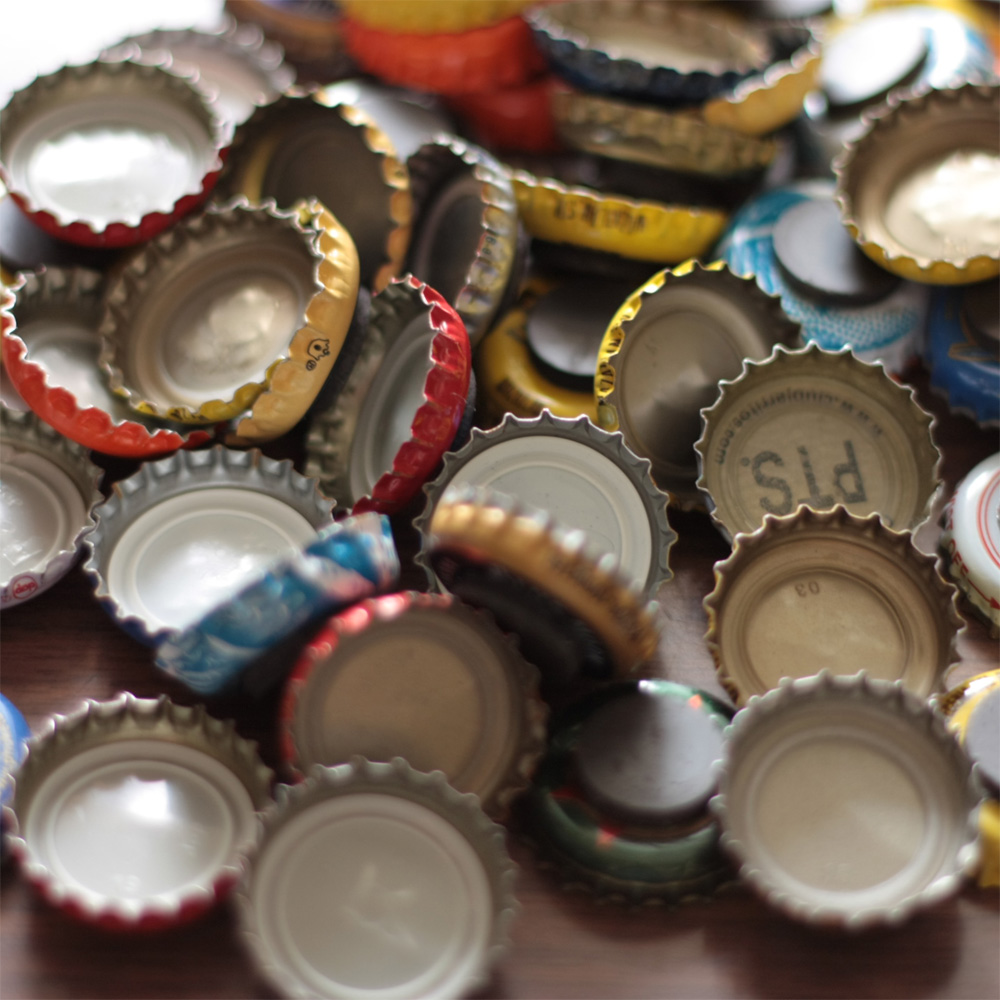 make shop live how to make your own bottle cap magnets