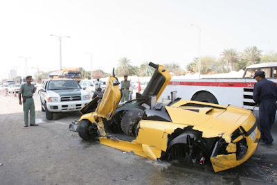 lamborgini crash