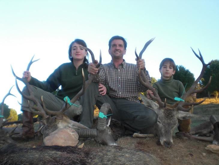 Manolo Prieto y Familia