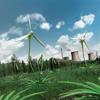 renewable energy places