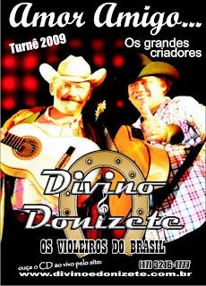 Baixar CD Capa Divino & Donizete   Ao Vivo (2008)