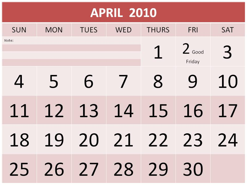 free 2011 calendar ireland
