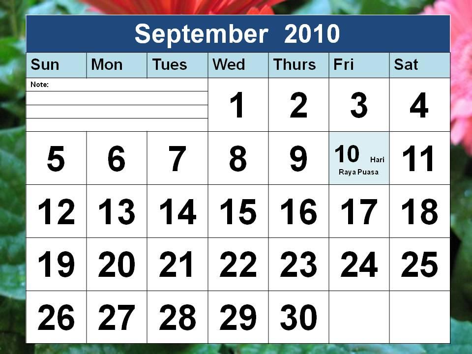 september 2011 calendar with holidays. september 2011 calendar with