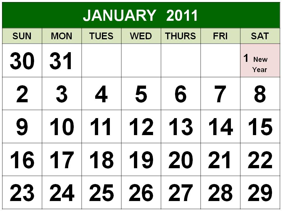 2011 calendar with holidays uk. 2011 Calendar Uk Holidays