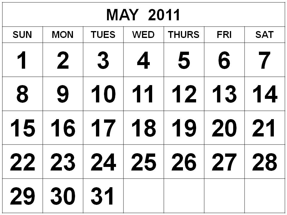 april and may 2011 calendar printable. printable april 2011 calendar