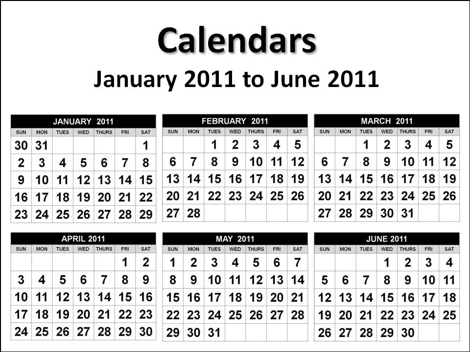 Printable yearly 2014 calendar 4 months per for 4 month calendar template 2014